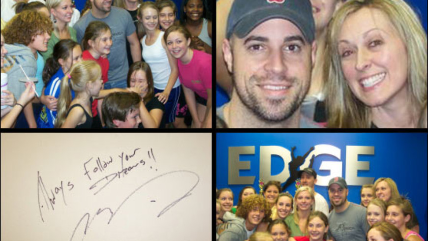 ROCK STAR CHRIS DAUGHTRY VISITS THE EDGE!